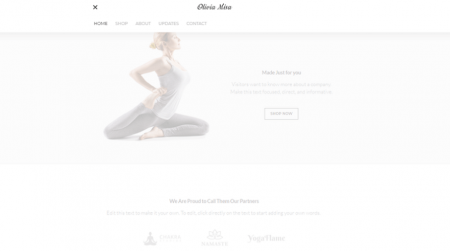 weebly paper theme