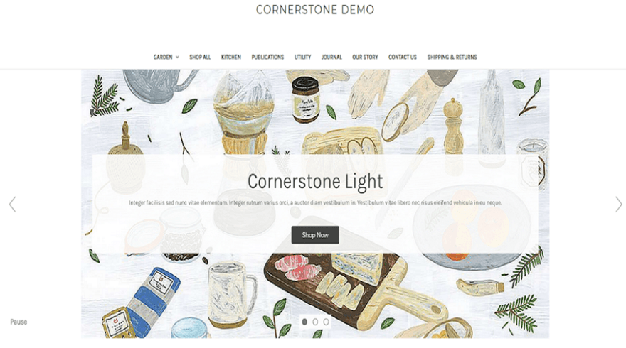bigcommerce cornerstone theme