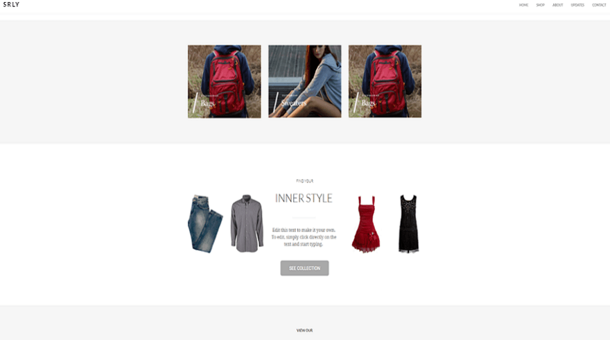 weebly brisk theme