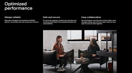 squarespace enterprise built for performance