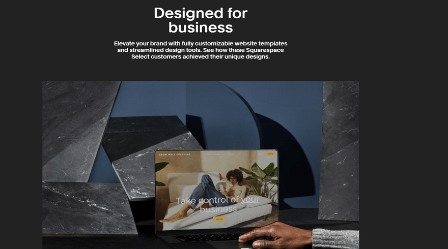 squarespace enterprise design