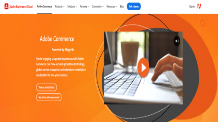 magento ecommerce solution home