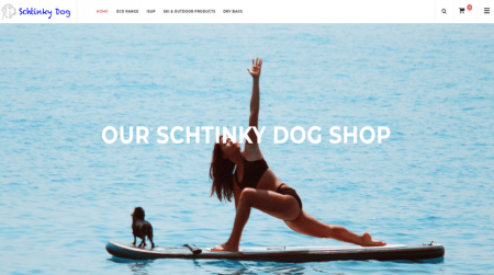 opencart store example schtinky dog