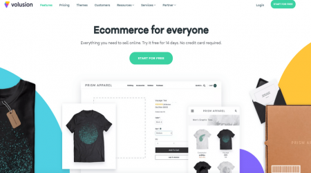 volsuion ecommerce software home