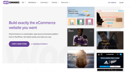 woocommerce ecommerce software home
