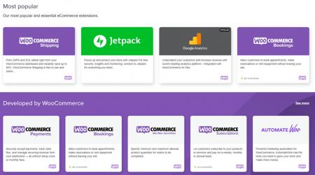 woocommerce ecommerce software marketplace