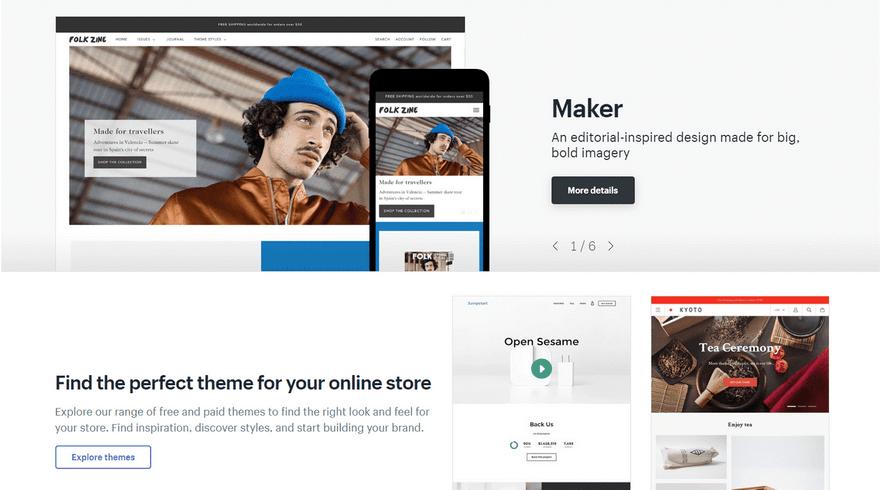 Shopify Maker Theme