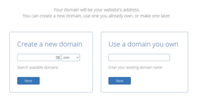 bluehost domain registration