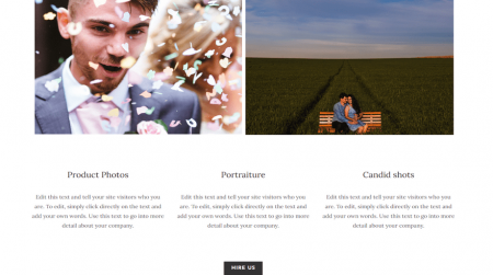 weebly business template services hire cta acquire