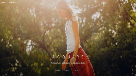 weebly business theme acquire home
