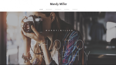 weebly template personal mandy miller home