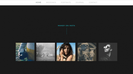 weebly template personal mandy miller instagram