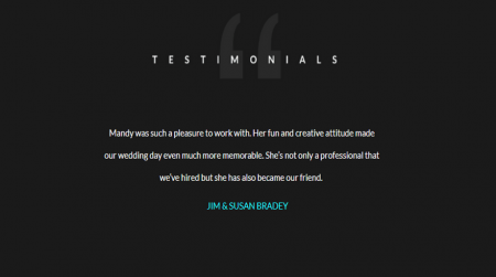 weebly template personal mandy miller testimonial