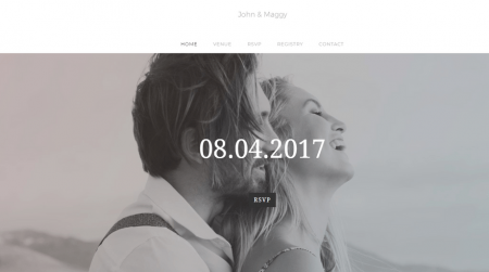 weebly events theme john and maggy home