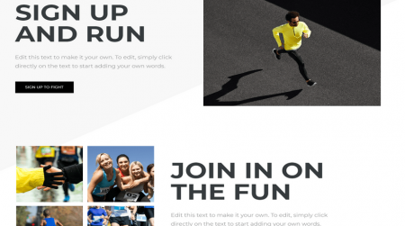 weebly events theme run ctas home