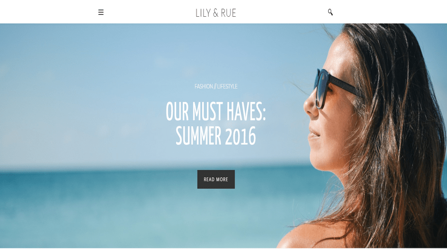 weebly blog template lily and rue home
