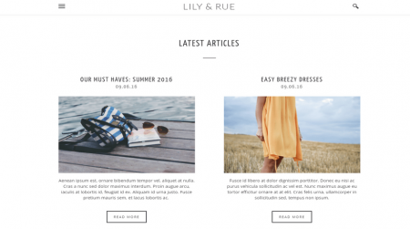 weebly blog template lily and rue latest articles