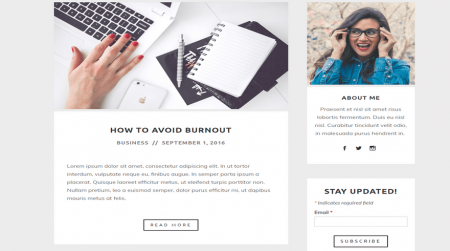 weebly blog theme upstart read more about newsletter