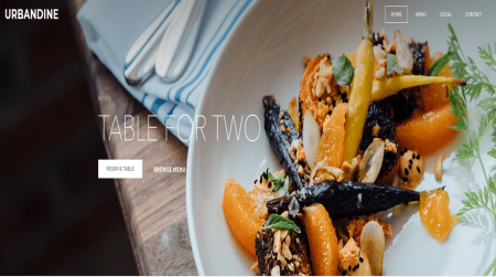 weebly restaurant theme urbandine home