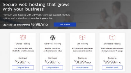 inmotion best cpanel hosting home