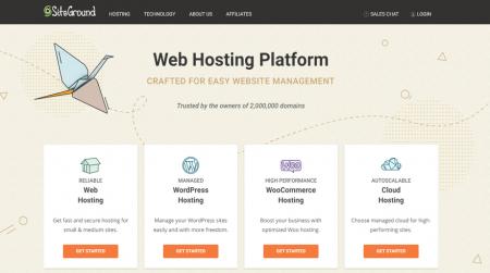 siteground best cpanel hosting home
