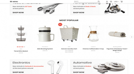 bigcommerce fashion theme vault bright features