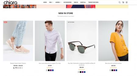 bigcommerce chiara fashion theme featured product strip