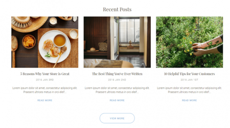 bigcommerce health and beauty soho light theme blog