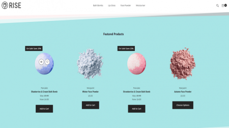 bigcommerce health and beauty portobello rise featured products