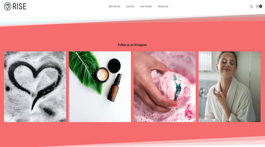bigcommerce health and beauty portobello rise instagram