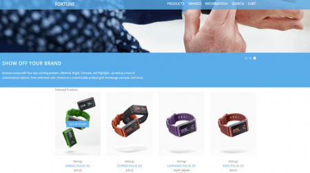 bigcommerce electronics fortune bright featured products