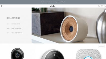 bigcommerce electronics atelier modern home