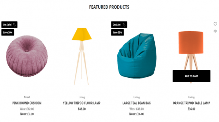 bigcommerce home and garden kings road decor featured products