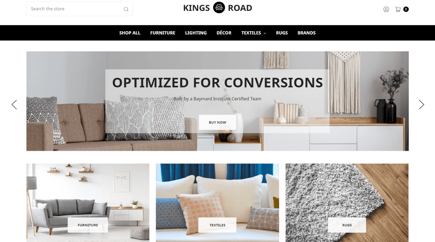 bigcommerce home and garden kings road decor home