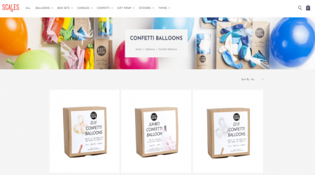bigcommerce gifts scales pop category page