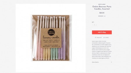 bigcommerce gifts scales pop product page