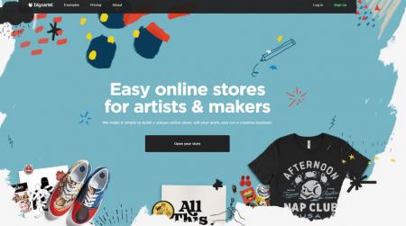 big cartel best ecommerce platform for artists