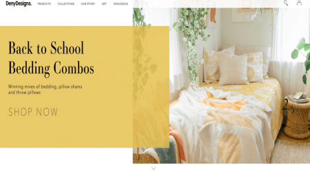 shopify store example denydesigns