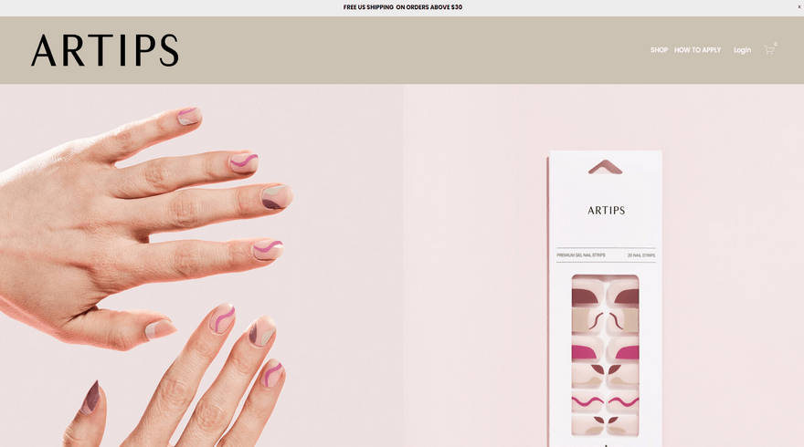 squarespace online store example artips