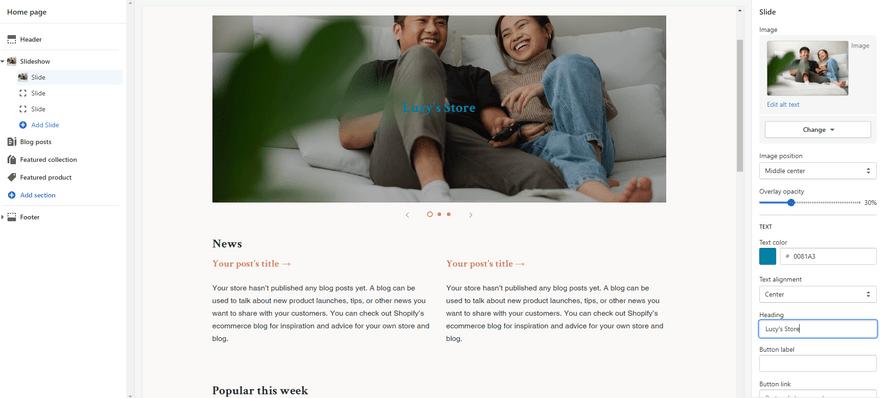 square online vs shopify theme editor