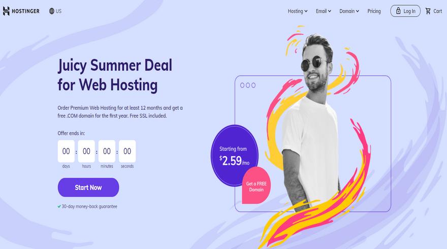 best ftp hosting hostinger home