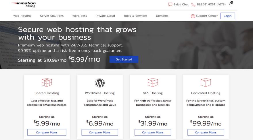 best ftp hosting inmotion hosting home