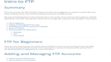 best ftp hosting provider bluehost support
