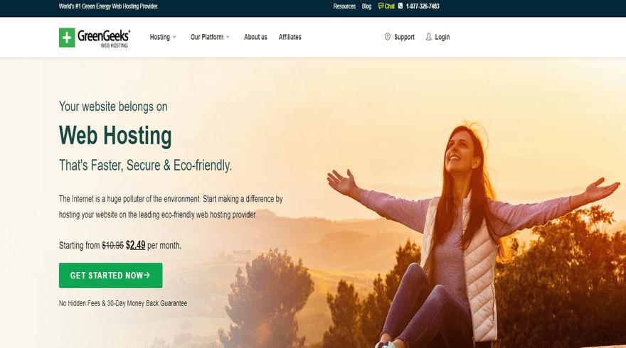 best green ftp hosting greengeeks home