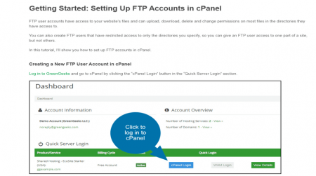 best green ftp hosting greengeeks support