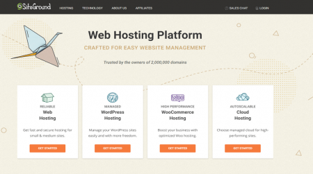 best ftp hosting siteground home
