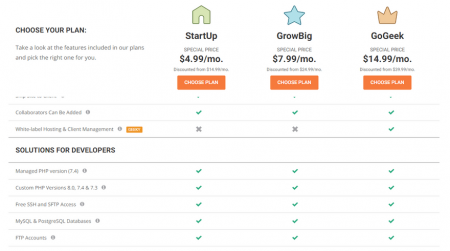 best ftp hosting siteground shared plans