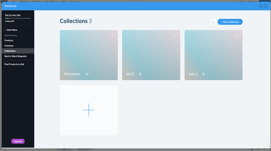 Wix Collections