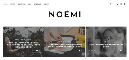 Noemi visualizes your blog posts as a beautiful visual grid.