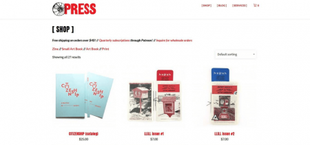 Is Press Square Online store showcases a plethora of featured products.